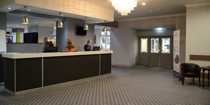 best western crewe arms hotel reception