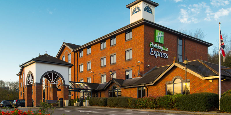 holiday inn express stafford exterior