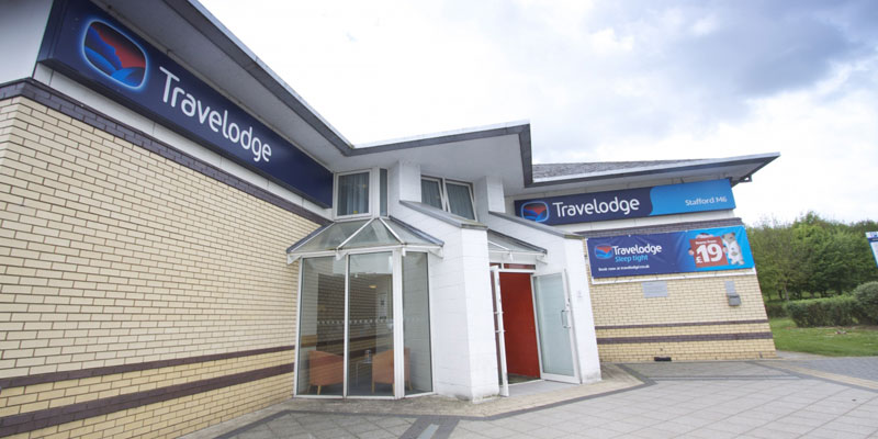 travelodge stafford m6 exterior