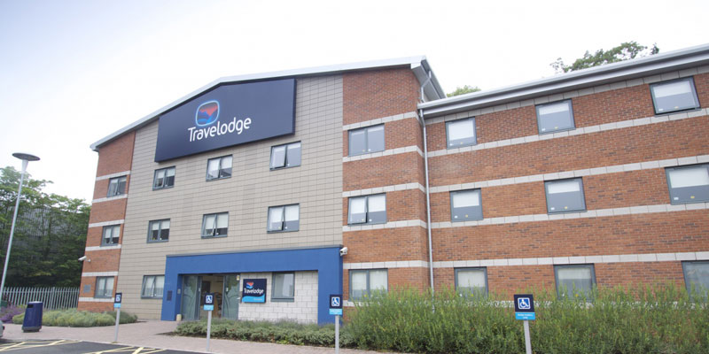 travelodge stafford central exterior